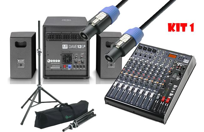 avs audiovisuel location sonorisation kits sono complets kit sono 1 dave12g3 console. Black Bedroom Furniture Sets. Home Design Ideas